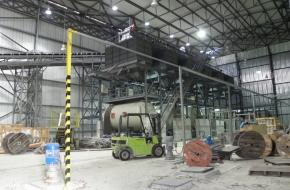 Заводът за плочки в Нови пазар започна работа